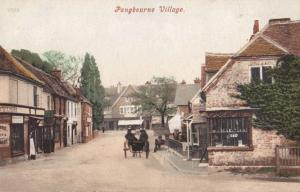 Grocer Tobacco Shop Porcelain China Pangbourne Berkshire Antique Postcard