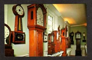 MA Clock Museum OLD STURBRIDGE VILLAGE MASS Grandfather