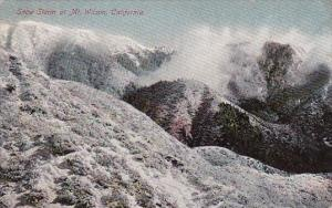 California Mount Wilson Snow Storm At Mount Wilson 1910