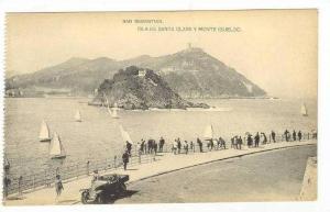 San Sebastián, Spain, 00-10s  Isla de Santa Clara Clara y Monte Igueldo