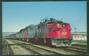 CITY OF SAN FRANCISCO Alco Southern Pacific OAKLAND CA Railroad Train Postcard