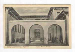 Nijmegen, Netherlands, 1910s  Heilig-Land Stichting - Ingang. Pastorie (Atrium)