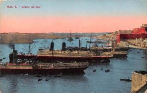 5967 Malta Grand Harbour Cargo and Passenger Ships