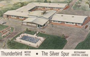 LATHAM , New York , 50-60s ; Thunderbird Motor Hotel