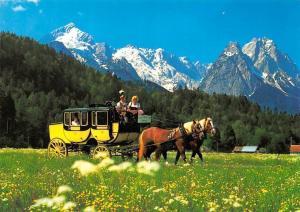Romantische Postkutschenfahrt Garmisch-Partenkirchen Grainau, Horse Carriage