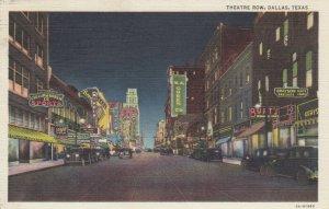 DALLAS , Texas, 1937 ; Theater Row