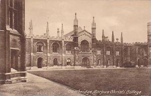 Corpus Christi College, Cambridge, England, UK, 1900-1910s