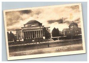 Vintage 1910 Photo Postcard Columbia University 116th Street New York