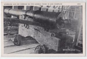 Starboard Gun, Lake Champlain NY