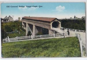 Old Covered Bridge, Gaspe PQ