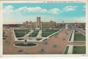 ATLANTIC CITY , New Jersey , 1910s ; Chelsa Park Boulevard