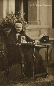 Romania, Queen Carmen Sylva, Elisabeth of Wied (1910s) RPPC Postcard (2)