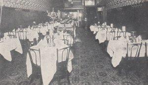TORONTO , Ontario, Canada, 1900-10s ; Main Dining Room , William's Cafe