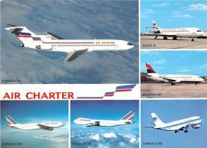 B57277 airplains avions Air Charter multiviews