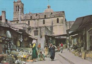 Market Street , NAZARETH , ISRAEL, 50-70s