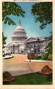Washington D C United States Capitol Building 1937
