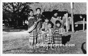 Children, Seminole Indians, Florida USA Unused