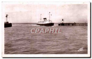 Old Postcard Dieppe Entree of Malle