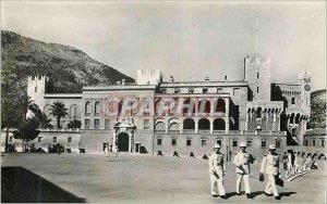 Modern Postcard Monaco Prince's Palace Facade of the Palace Square Militaria