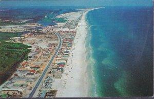 Panama City Beach FL - aerial view of Panama City Beaches, 1960s
