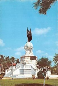 Statue of Vasco Nunez - Panama