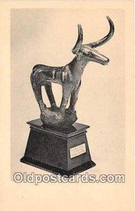 Figure of a Bull Museum of the Cranbrook Academy of Art, Bloomfield Hills, Mi...