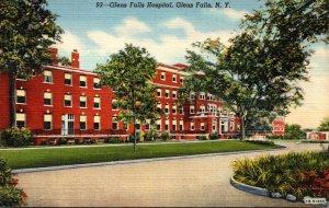 New York Glens Falls Hospital Curteich