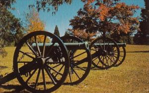 Battery Of Confederate Cannons Shiloh National Military Park Jackson Mississippi