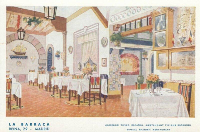 Madrid , Spain , 00-10s ; Restaurant Interior