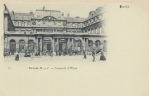 PARIS , France , 1890s ; Palais Royal - Conseil d'Etat