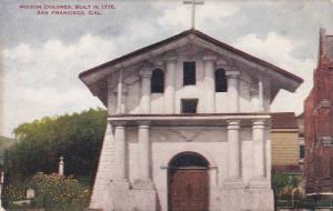 Exterior,  Mission Dolores,  Built in 1776,  San Francisco,  California,  00-10s
