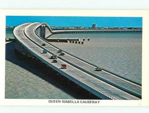 Queen Isabella Causeway Bridge Port Isabel South Padre Island TX Postcard # 6087