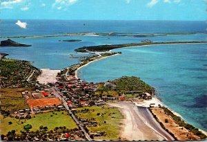 French Saint Martin Birds Eye View Of Marigot