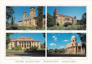South Africa Bloemfontein City Hall Old Presidency Appeal Court and Fourth Ra...