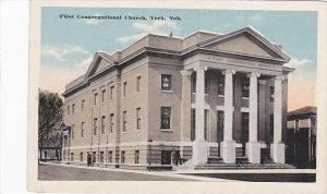 Nebraska York First Congregational Church