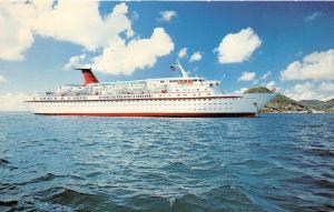Bahamas~Cunard Line Limited M V Cunard Princess Cruise Ship~Built 1977
