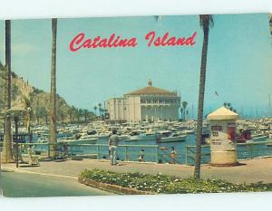 Unused Pre-1980 BOAT MARINA Catalina Island - Los Angeles California CA hn2828