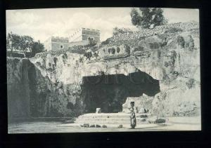 213684 JERUSALEM Tomb of the King Vintage postcard