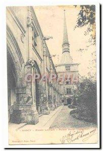 Nancy Old Postcard Ducal Palace Museum Lorraine (inside)