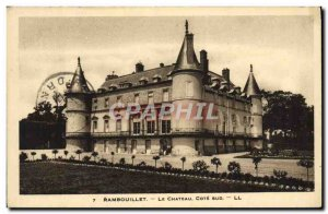 Old Postcard Rambouillet Chateau Cote Sud