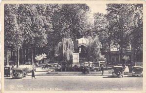 Le Parc Et Le Monument Du Roi Albert, Luxembourg, Belgium, 1900-1910s