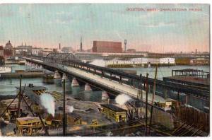 Charlestown Bridge, Boston MA