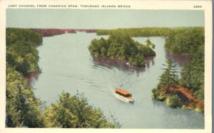 Lost Channel from Canadian Span - Thousand Islands Bridge