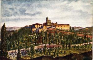 CPA FIRENZE La Certosa Veduta panoramica. ITALY (501526)