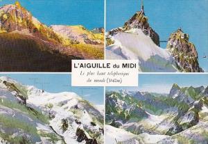 Switzerland L'Aguille du Midi Chamonix Mont Blanc