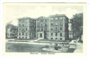 Haven Hall, Syracuse University, Syracuse,New York,00-10s