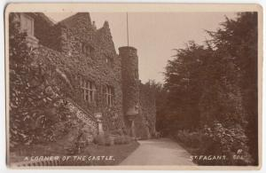Glamorgan; A Corner Of The Castle, St Fagans RP PPC, Unposted, c 1920's