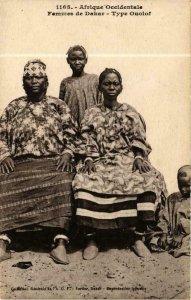 CPA AK Fortier 1165, Femmes de Dakar- Type Ouolof, SENEGAL (761681)