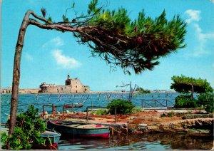 Brindisi Italy Aragonese Castle Postcard used (19704)