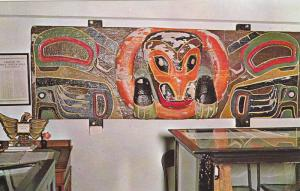 Haida House Post (Bear Motif) Cumshewa Inlet , Queen Charlotte Islands , B.C....
